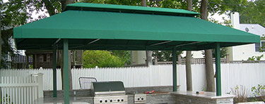 Stationary Awning